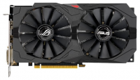 Видеокарта ASUS ROG-STRIX-RX570-O8G-GAMING AMD RX 570 <8Gb, 256bit, GDDR5, GPU/Mem: (1168-1310)/7000 MHz, HDMI+ 2xDVI+ D
