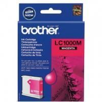 Картридж Brother LC1000M DCP130C/330С, MFC-240C/5460CN/885CW/DCP350 Magenta, 400 pages (5%)