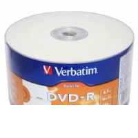 Диск DVD-R Verbatim 4.7 Gb, 16x, Shrink (50), DataLife Ink Printable (50/600)