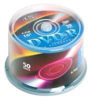 Диск DVD-R VS 4.7 Gb, 16x, Cake Box (50), (50/250)