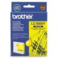 Картридж Brother LC1000Y DCP130C/330С, MFC-240C/5460CN/885CW/DCP350 Yellow, 400 pages (5%)
