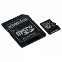 Флеш карта microSD 256GB Kingston microSDXC Class 10 UHS-I U1 Canvas Select (SD адаптер) 80MB/s