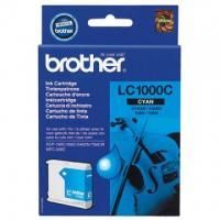 Картридж Brother LC1000C DCP130C/330С, MFC-240C/5460CN/885CW/DCP350 Cyan, 400 pages (5%)